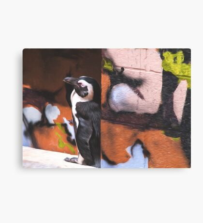 Penguin Canvas Print