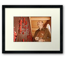 Anzac - Remembering Those Lost 3b Framed Print