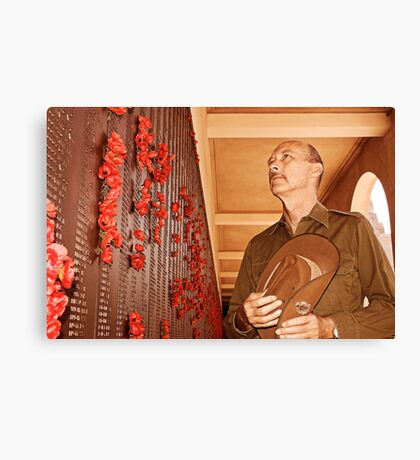 Anzac - Remembering Those Lost 3b Canvas Print