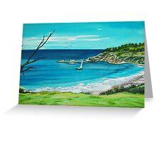 Beach View. Seals Rocks, Australia Greeting Card