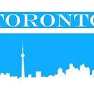 Toronto Skyline by generalbubbyy