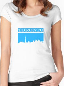 Toronto Skyline Women's Fitted Scoop T-Shirt