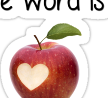 Apples Sticker