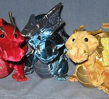Three Dragons by silverdragon