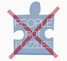 people not puzzles Kids Clothes