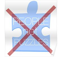people not puzzles Poster