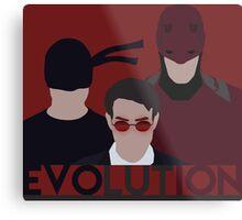 DareDevil 2015 Tv Show - EVOLUTION Metal Print