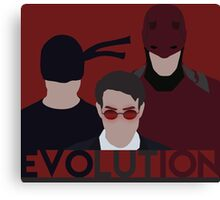 DareDevil 2015 Tv Show - EVOLUTION Canvas Print