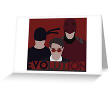 DareDevil 2015 Tv Show - EVOLUTION Greeting Card