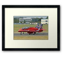 3 Arrow Take Off - Front Wheels Lifting - Farnborough 2014 Framed Print