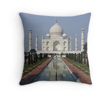 Taj Mahal, India Throw Pillow