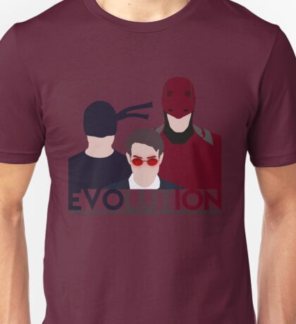 DareDevil 2015 Tv Show - EVOLUTION Unisex T-Shirt