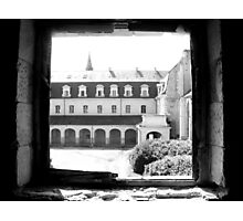 A view from the Abbey Festival Hall in France Photographic Print