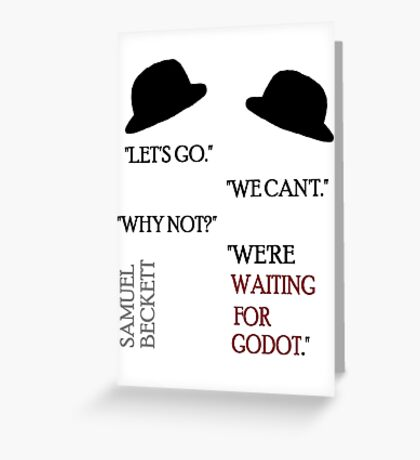 Waiting Greeting Card