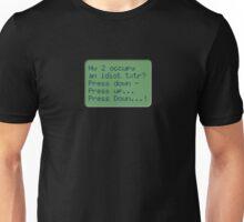 229 Idiot Txtr Unisex T-Shirt