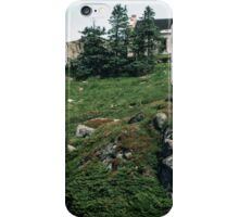 Rangers house on plateau above Bergen Norway 198406110021 iPhone Case/Skin