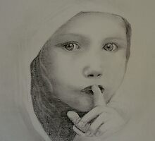 The Shhh Girl by Carol Walker