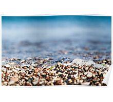 rocky beach  Poster