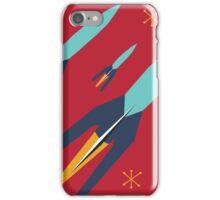 Retro Rocket iPhone Case/Skin