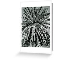 Wild Palm Greeting Card