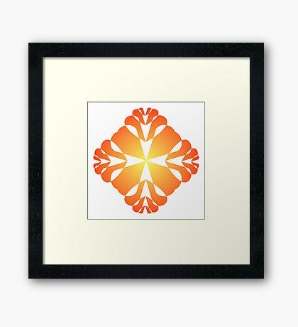 Multiple Hearts Framed Print