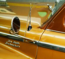 Part of a old Desoto by Jeffrey  Sinnock