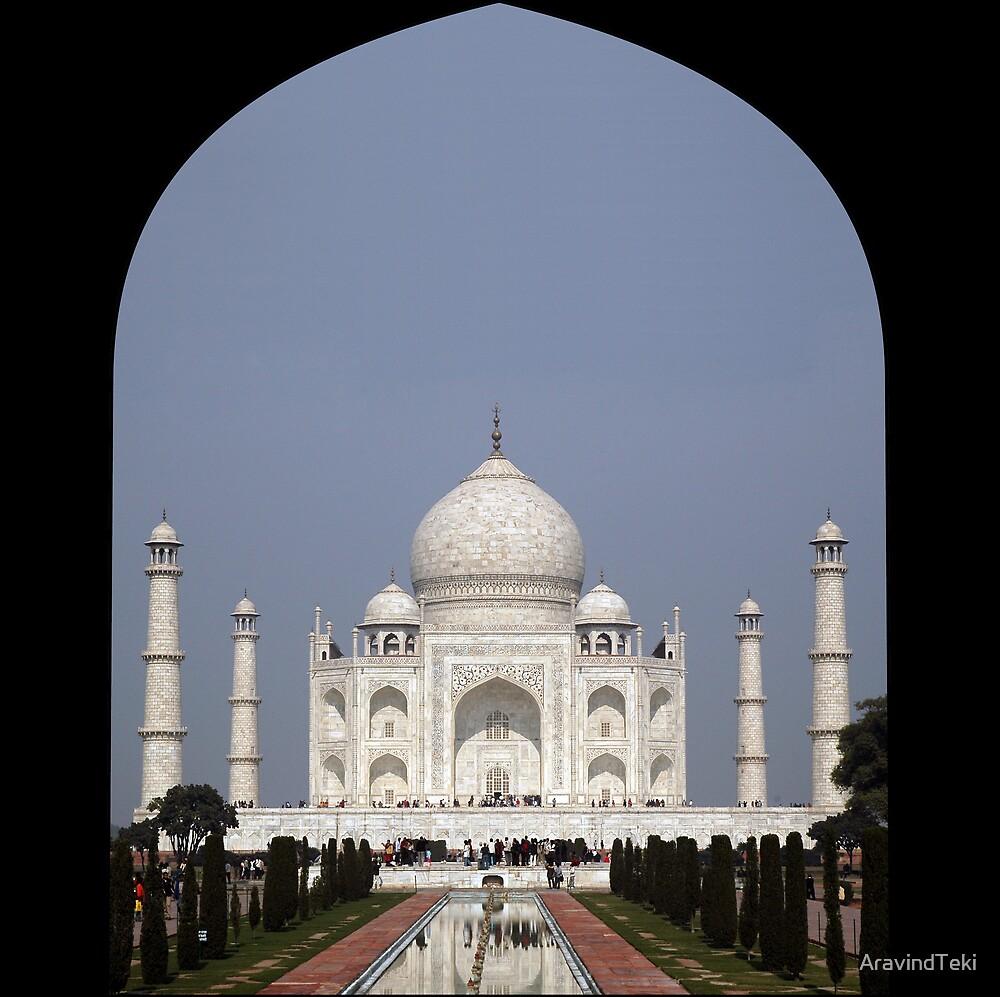 Taj Mahal, India by AravindTeki
