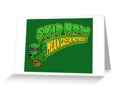Skid Row Greeting Card