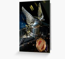 Chrysler Hood Ornament Greeting Card