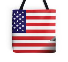 Inside USA Tote Bag