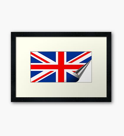 Inside UK Framed Print