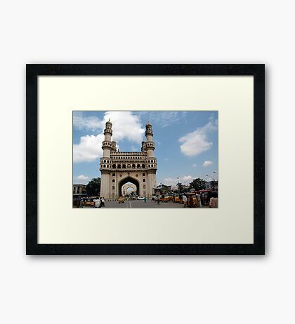 Charminar, Hyderabad, India Framed Print