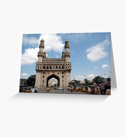 Charminar, Hyderabad, India Greeting Card