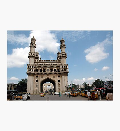 Charminar, Hyderabad, India Photographic Print
