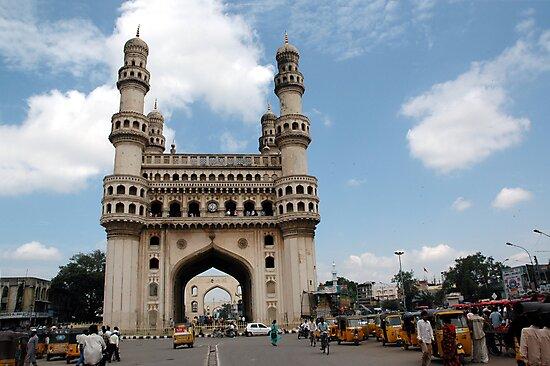 Charminar, Hyderabad, India by AravindTeki