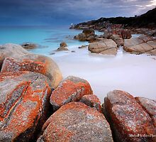 Bay Of Fires-Post sundown by Michael Walters