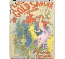 Plaisir au Gold Saucer iPad Case/Skin