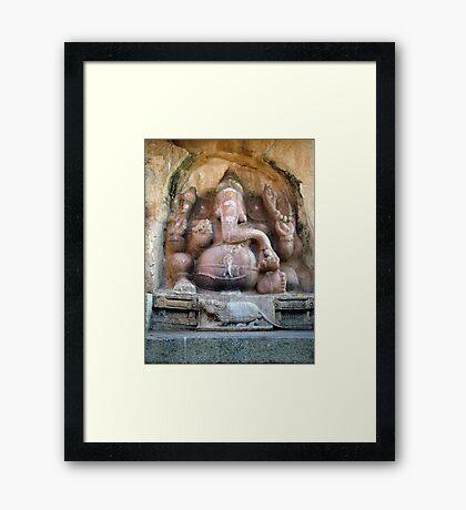 Sri Ganesh Framed Print