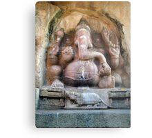 Sri Ganesh Metal Print
