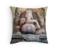 Sri Ganesh Throw Pillow