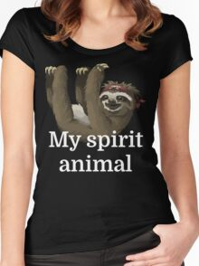 My Spirit Animal Women's Fitted Scoop T-Shirt