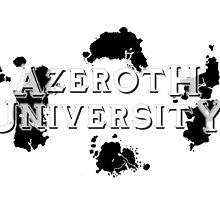 Azeroth University by cynthiaelizabet