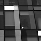 Working late. BLACK and WHITE by Tenee Attoh