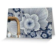 Japanese Teapot Greeting Card