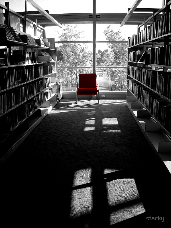 Chair of knowledge by Stacey Pritchard