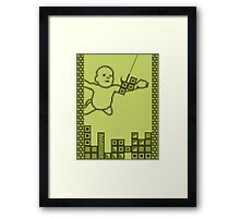 Nevermind the Tetris Framed Print