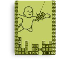 Nevermind the Tetris Canvas Print