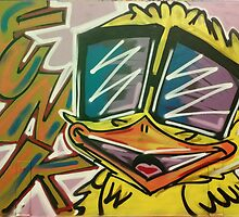 "Funky Chicken by Efrain ""Eskwilax"" Martinez by DromeBoxLabs"