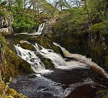 Beezleys' Triple Spout, Ingleton by Steve  Liptrot
