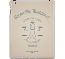 Fallout - Survive The Wasteland! (Blue) iPad Case/Skin
